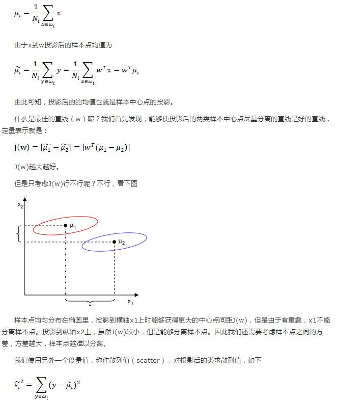 LDA线性判别分析--python代码实践