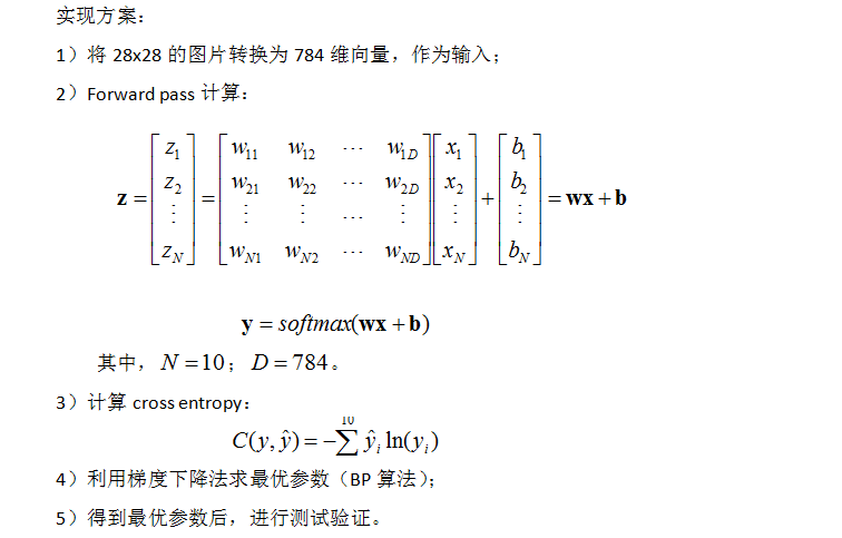 Deep Learning TensorFlow实践:mnist手写识别(一)